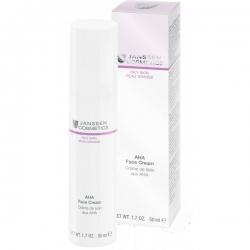 Janssen Cosmetics Oily Skin AHA Face Cream - Лёгкий активный крем с фруктовыми кислотами 50мл