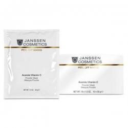 Janssen Peeling and Peel Off Masks Acerola Vitamin C Mask - Розовая Моделирующая Маска с Ацеролой и Витамином С, 30гр