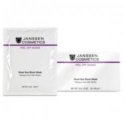 Janssen Cosmetics Peeling and Peel Off Masks Dead Sea Black Mask - Янссен Альгинатная Маска на Основе Грязи Мертвого моря, 10*30гр