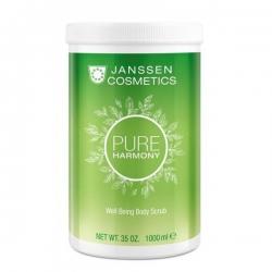 Janssen Prime harmony Well Being Body Scrub - Тонизирующий скраб для тела с экстрактом Белого чая 1000мл