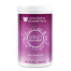 Janssen Vino enjoyment Luxury Reviving Scrub Vino enjoymen - Роскошный ревитализирующий скраб с экстрактом листьев винограда 1000мл