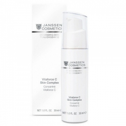 Janssen Demanding Skin Vitaforce C Skin Complex - Регенерирующий Концентрат с Витамином С 30мл