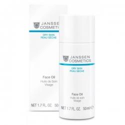 Janssen Dry Skin Face Oil - Масло для восстановления гидролипидного баланса кожи 50 мл
