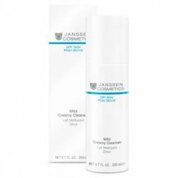 Janssen Dry Skin Mild Creamy Cleanser - Очищающая эмульсия 200 мл