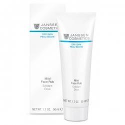 Janssen Dry Skin Mild Face Rub - Мягкий скраб с гранулами жожоба 50 мл