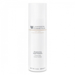 Janssen Fair Skin Brightening Night Restore - Осветляющий Ночной Крем 150мл