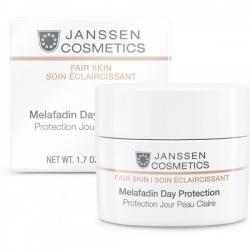 Janssen Fair Skin Melafadin Day Protection - Осветляющий Дневной Крем (SPF 20) 50мл