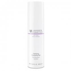 Janssen Cosmetics Clarifying Cleansing Gel - Гель очищающий с экстрактом дрожжей, 500 мл