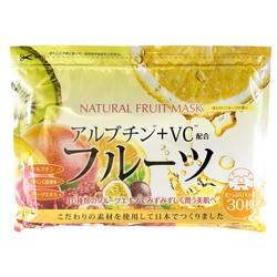 Japan Gals - Курс натуральных масок для лица с фруктовыми экстрактами, 30 шт