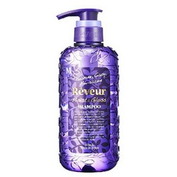 Japan Gateway Reveur Moist&Gloss - Шампунь для жестких, тусклых и непослушных волос, Увлажнение и блеск, 500 мл