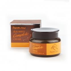FarmStay Jeju Mayu Complete Cream -  Крем для лица с лошадиным маслом, 100 гр