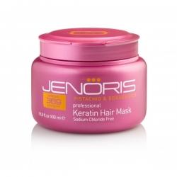 Jenoris Keratin Hair Mask - Кератиновая маска для волос 500 мл