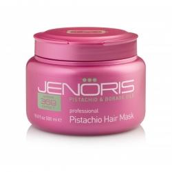 Jenoris Pistachio Hair Mask - Маска Восстанавливающая для сухих и поврежденных волос с фисташковым маслом 500 мл