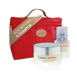 "Janssen Inspira - Набор подарочный Inspira ""Дневной лифтинг"": Detoxifying Day Cream Rich 50мл+Anti Wrinkle Serum 30мл"
