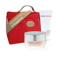 """Janssen Inspira - Набор подарочный Inspira """"Ночной лифтинг"""": Ночной лифтинг-крем 50 мл + Увлажняющая крем-маска 50 мл"""