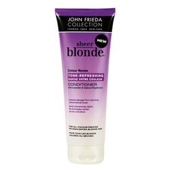 John Frieda Sheer Blonde - Кондиционер для восстановления и поддержания оттенка осветленных волос с UV фильтром 250 мл