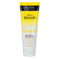 John Frieda Sheer Blonde - Кондиционер осветляющий для натуральных , мелированных и окрашенных светлых волос 250 мл