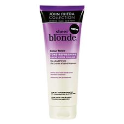 John Frieda Sheer Blonde - Шампунь для восстановления и поддержания оттенка осветленных волос с UV фильтром 250 мл