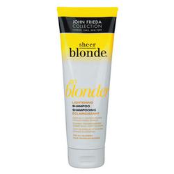 John Frieda Sheer Blonde - Шампунь овсетляющий для натуральных, мелированных и окрашенных светлых волос 250 мл