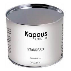 Kapous Depilations - Воск жирорастворимый Розовый Диоксидом Титаниума, 400 мл
