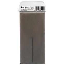 Kapous Depilations - Воск жирорастворимый с эфирным маслом Петит-грея, с широким роликом, 100 мл