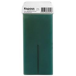 Kapous Depilations - Воск жирорастворимый с маслом Аниса, с широким роликом, 100 мл