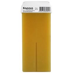 Kapous Depilations - Воск жирорастворимый с маслом Арганы, с широким роликом, 100 мл