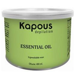 Kapous Depilations - Воск жирорастворимый с маслом Базилика, 400 мл