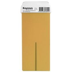 Kapous Depilations - Воск жирорастворимый с маслом Фенхеля, с широким роликом, 100 мл