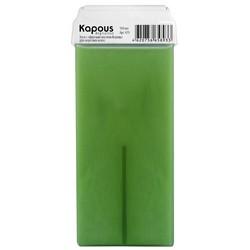 Kapous Depilations - Воск жирорастворимый с маслом Корицы, с широким роликом, 100 мл