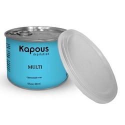 Kapous Depilations - Воск жирорастворимый с Микромикой, 400 мл