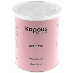Kapous Depilations - Воск жирорастворимый с Тальком, 800 мл