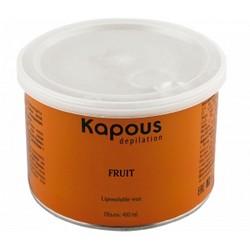 Kapous Depilations - Воск жирорастворимый Зеленое Яблоко, 400 мл