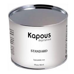 Kapous Depilations - Воск жирорастворимый Зеленый с Хлорофиллом, 400 мл