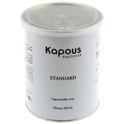 Kapous Depilations - Воск жирорастворимый Зеленый с Хлорофиллом, 800 мл