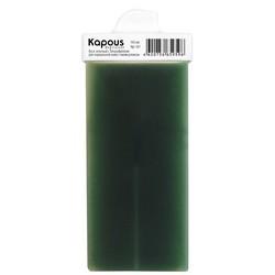 Kapous Depilations - Воск жирорастворимый Зеленый с Хлорофиллом, с мини роликом, 100 мл