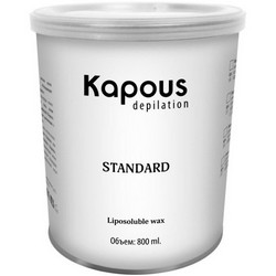 Kapous Depilations - Воск жирорастворимый Желтый Натуральный, 800 мл