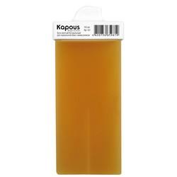 Kapous Depilations - Воск жирорастворимый Желтый, Натуральный, с мини роликом, 100 мл