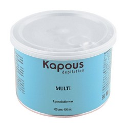 Kapous Depilations Silver - Воск жирорастворимый, 400 мл