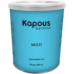 Kapous Depilations Silver - Воск жирорастворимый, 800 мл
