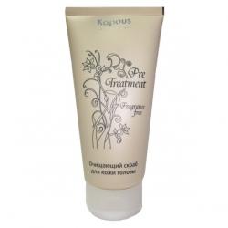 "Kapous Fragrance Free - Очищающий скраб д/кожи головы ""PreTreatment"" 150 мл"