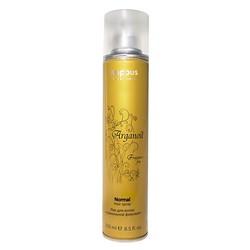 Kapous Fragrance Free Arganoil - Лак для волос нормальной фиксации с маслом арганы, 250 мл