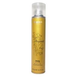 Kapous Fragrance Free Arganoil - Лак для волос сильной фиксации с маслом арганы, 250 мл
