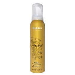 Kapous Fragrance Free Arganoil - Мусс для волос нормальной фиксации с маслом арганы, 150 мл