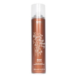 Kapous Fragrance Free Magic Keratin - Лак для волос нормальной фиксации, с кератином, 250 мл