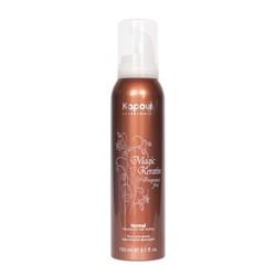 Kapous Fragrance Free Magic Keratin - Мусс нормальной фиксации, с кератином, 150 мл