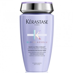 Kerastase Blond Absolu bain ultra-violet anti-brass purple shampoo - Шампунь-ванна Ultra-Violet 250 мл