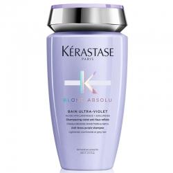 Kerastase Blond Absolu bain ultra-violet anti-brass purple shampoo - Шампунь-ванна Ultra-Violet 250 мл