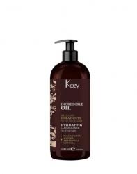 Kezy Incredible Oil Hydrating Conditioner - Кондиционер увлажняющий для всех типов волос, 1000 мл
