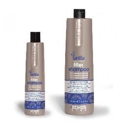 Echos Line  Seliar Filler Shampoo - Шампунь на основе коллагена и масла Аргании, 350  мл